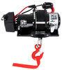Bulldog Winch Trailer Winch - Synthetic Rope - Hawse Fairlead - 5,800 lbs Slow Line Speed BDW10030