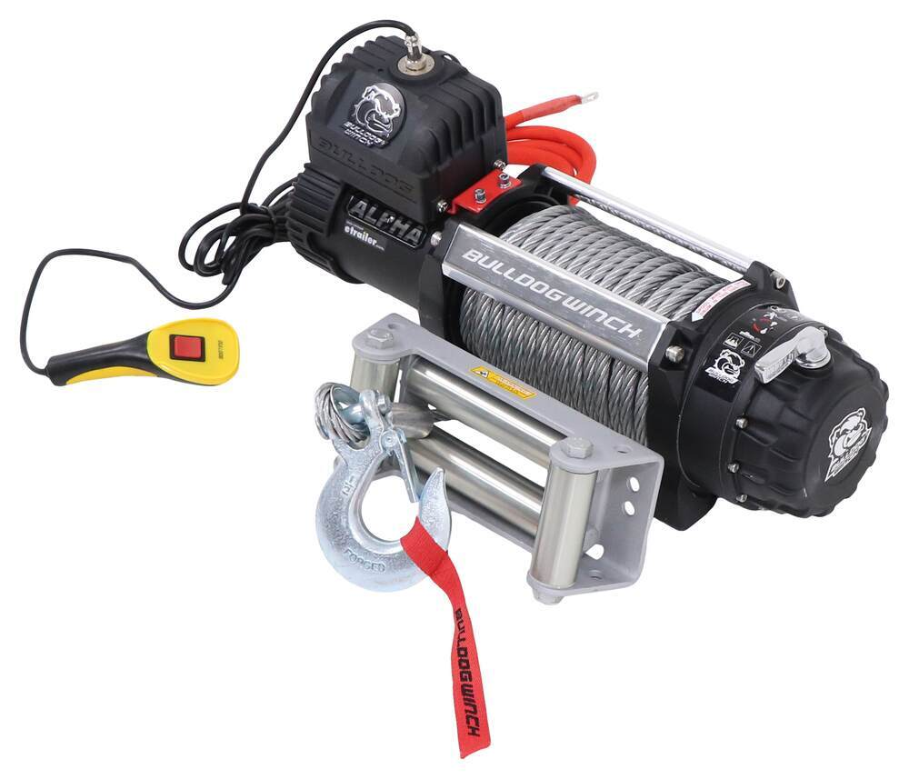 Bulldog Winch Load Holding Brake Electric Winch - BDW10047