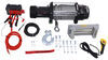 Bulldog Winch Alpha Series Off-Road Winch - Wire Rope - Roller Fairlead - 15,000 lbs Load Holding Brake BDW10047