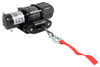 bulldog winch electric atv - utv plug-in remote powersports series synthetic rope hawse fairlead 3 500 lbs