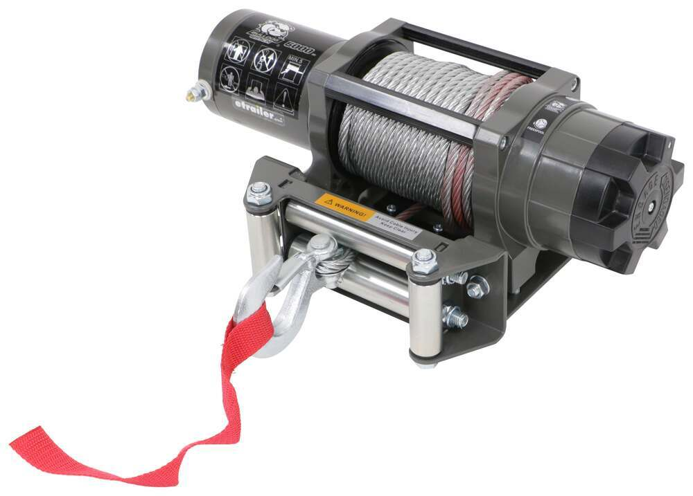 BDW15022 - Wire Rope Bulldog Winch Electric Winch