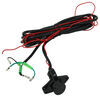 Bulldog Winch Powersports Series UTV Winch - Synthetic Rope - Hawse Fairlead - 6,000 lbs 2.0 HP BDW15023