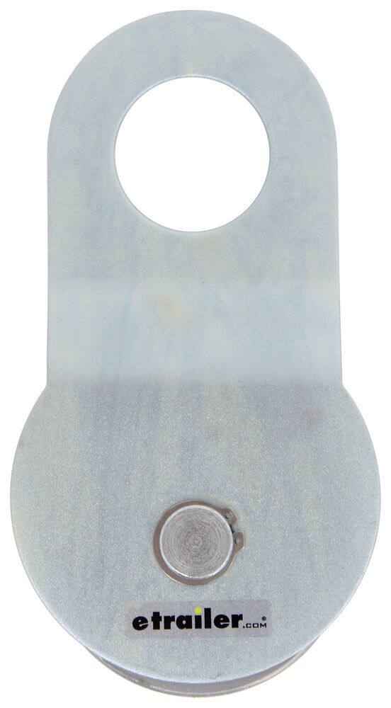 Bulldog Winch Snatch Block - Silver Zinc Coated Snatch Block BDW20005