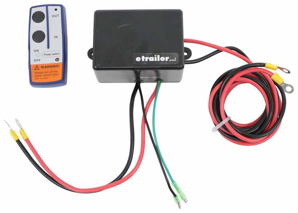 Bulldog Winch Wireless Controller for ATV Winches with Off-Center Drum Remote Control BDW20099