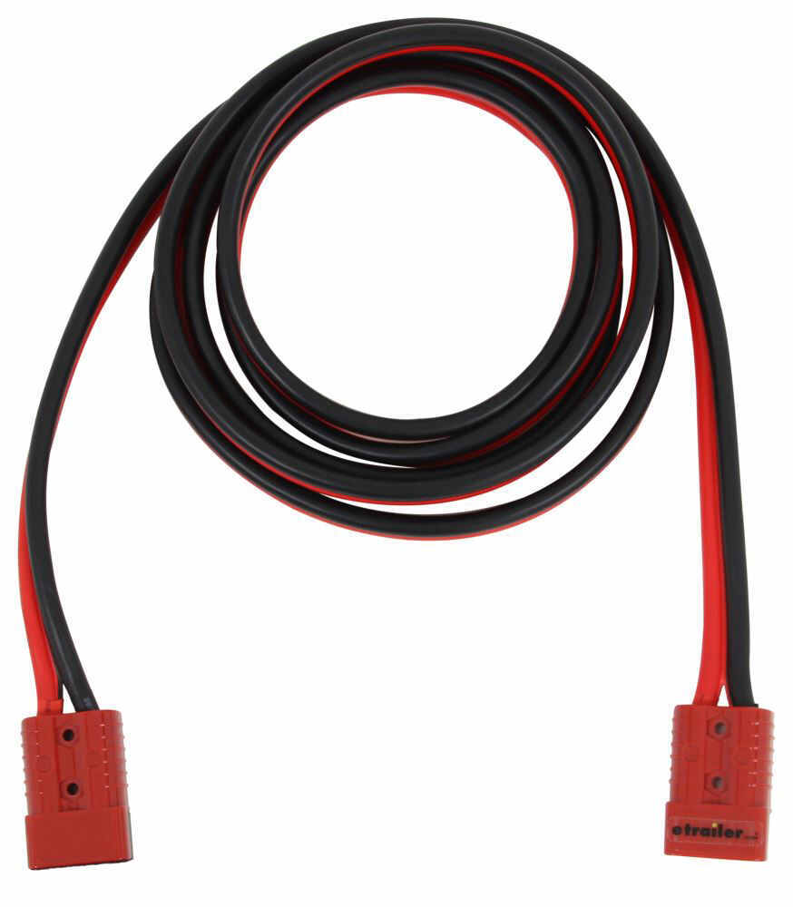 BDW20219 - 2 Gauge Wire Bulldog Winch Jumper Cables