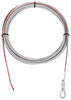 """Replacement Wire Rope for Bulldog Winch - 55' Long x 1/4"""" Diameter - 6,000 lbs Wire Rope BDW20250"""