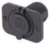 Bulldog Winch Power Socket - w/ 3 Mounting Brackets - 12V - 20A 1 DC Outlet BDW20286