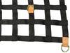 bulldog winch cargo nets truck bed net trailer w/ tie-downs and d-rings - long trucks 6' x 8' 750 lbs