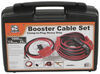 Bulldog Winch Booster Cable Set w/ Power Leads - Quick Connect to Clamp - 1 Gauge - 25' Long 1 Gauge Wire BDW20334