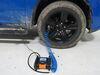 0  tire inflator bulldog winch portable air compressor - 100 psi 1.2 cfm maximum flow automatic