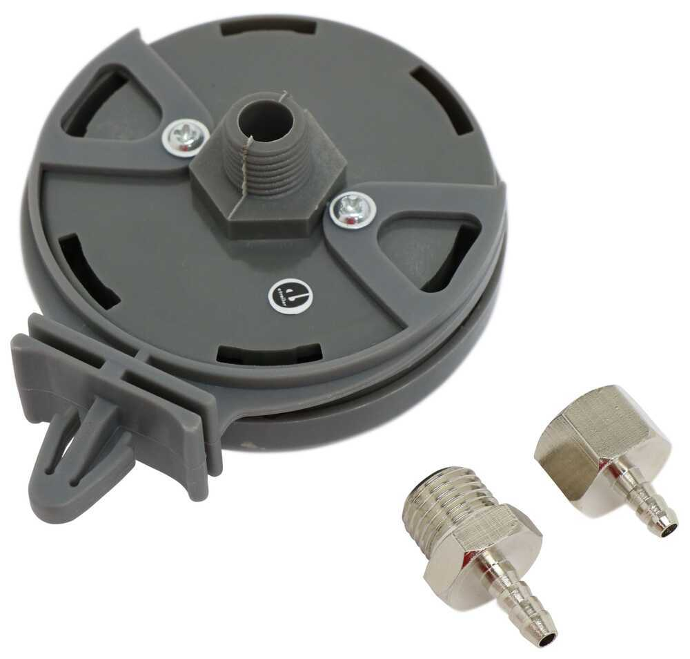 """Remote Inlet Air Filter Assembly for Bulldog Winch Air Tank - Plastic - 1/4"""" NPT Air Compressor BDW42043"""