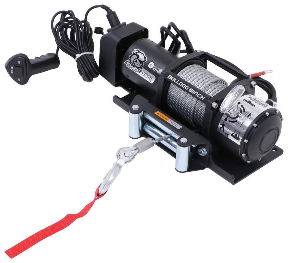 BDW66FR - 9300 - 10000 lbs Bulldog Winch Electric Winch