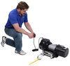 Bulldog Winch Heavy-Duty Series Off-Road Winch - Wire Rope - Roller Fairlead - 16,500 lbs 6.0 HP BDW54FR