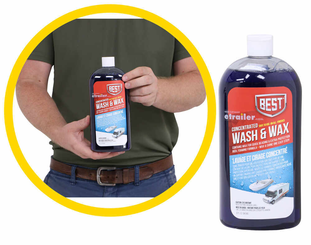 BE34VR - Wash and Wax In One BEST Shampoo,Wax