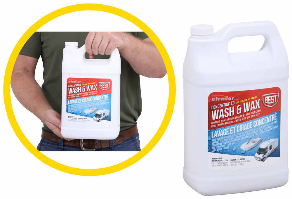 Car Wash and Wax BE94VR - 1 Gallon Refill Jug - BEST