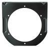 """Trailer Light Mounting Bracket for 4"""" Trailer Lights, Steel - Black Powder Coat 4 Inch Diameter BK45BB"""