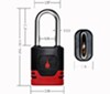 """BOLT Covered Padlock - 2"""" Shackle - Codes to Late Model GM Key Steel BL7018518"""