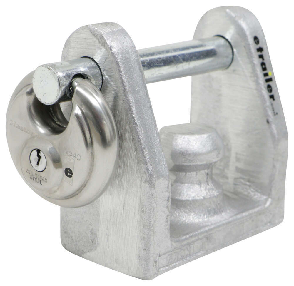 BLTL-20-40D - Universal Application Lock Blaylock Industries Trailer Coupler Locks