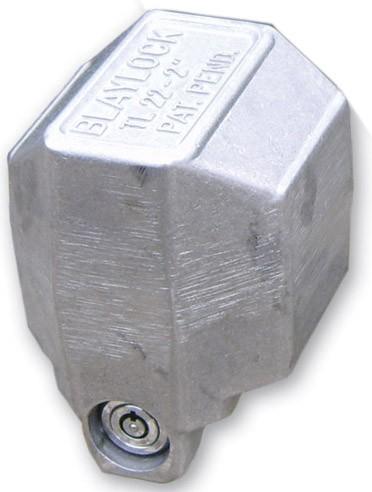 "Blaylock Total-Encasement Coupler Lock for 2"" Bulldog Collar-Lok Couplers - Push Button Fits 2 Inch Ball BLTL-22"