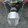 0  trailer coupler locks blaylock industries surround lock fits 2 inch ball total-encasement for bulldog collar-lok couplers - push button