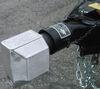 0  trailer coupler locks blaylock industries universal application lock fits 2 inch ball bltl-22