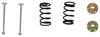 """10"""" x 2-1/4"""" Electric Brake Shoe/Lining (One Wheel) Electric Drum Brakes BP04-095"""