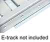 """E-Track Backing Plate - Zinc Plated Steel - 6-1/2"""" Long x 6"""" Wide - Qty 1 Backing Plate BPEZ"""