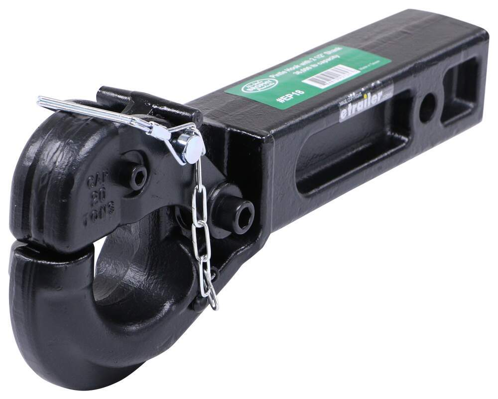 """Brophy Pintle Hook for 2-1/2"""" Hitches - 36,000 lbs Standard Shank BR27FR"""