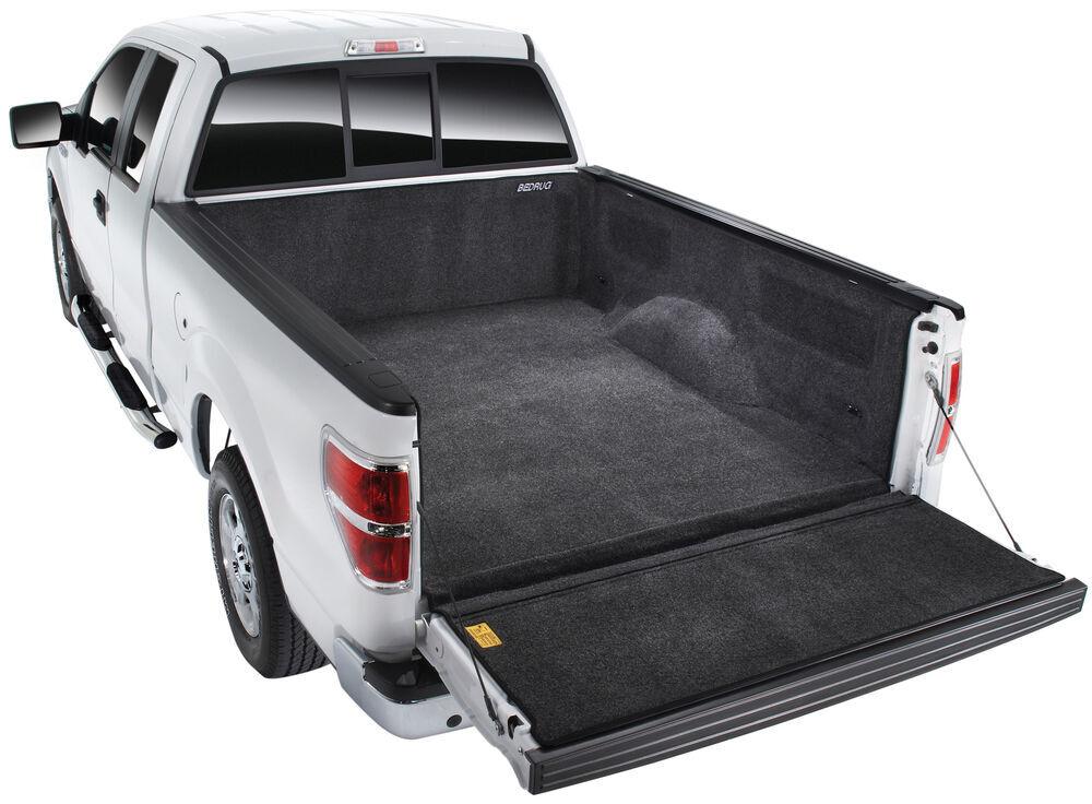 BedRug Full Bed Protection Truck Bed Mats - BRT02LBK