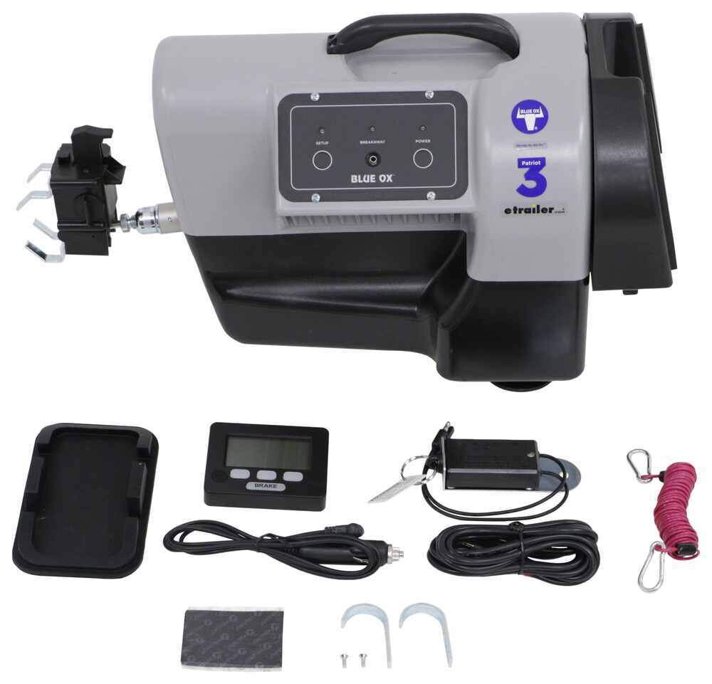Blue Ox Patriot 3 Radio Frequency, Portable Braking System - Proportional Power Assist Brake Compatible BRK2019