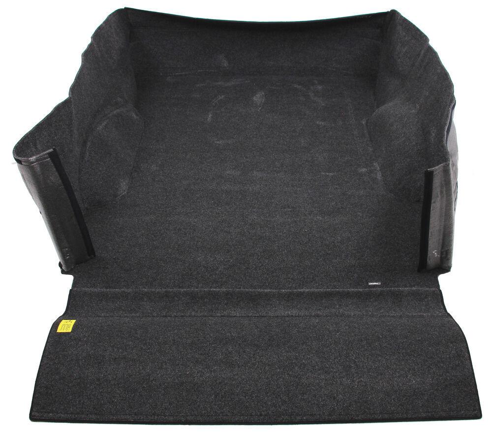 BedRug Custom Full Truck Bed Liner - Trucks w/ Bare Beds or Spray-In Liners - Carpet Carpet over Foam BRQ15SBK