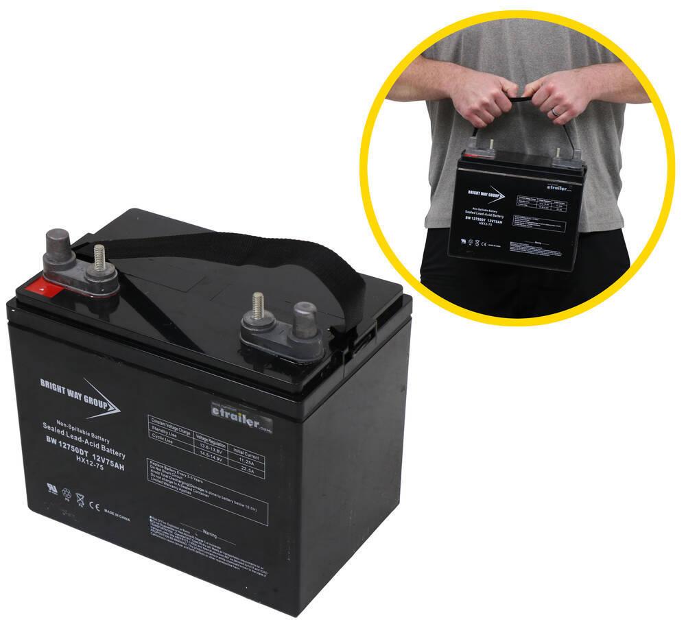 Bright Way AGM Battery Battery - BRW34FR
