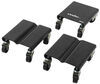 buffalo tools winter weather supplies  snowmobile steel dolly set - 1 500 lbs
