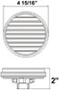 BUL23C24B - 4 Inch Diameter Optronics Trailer Lights