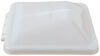 Replacement Dome for Ventline Ventadome Trailer Roof Vent - White - Wedge Shape - Plastic Replacement Lid BVD0449-A01