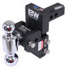 b and w trailer hitch ball mount adjustable 10000 lbs gtw