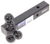 b and w trailer hitch ball mount fixed 1-7/8 inch 2 2-5/16 three balls