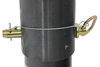 b and w gooseneck coupler with outer inner tube b&w defender locking - adjustable round 2-5/16 inch ball 25 000 lbs