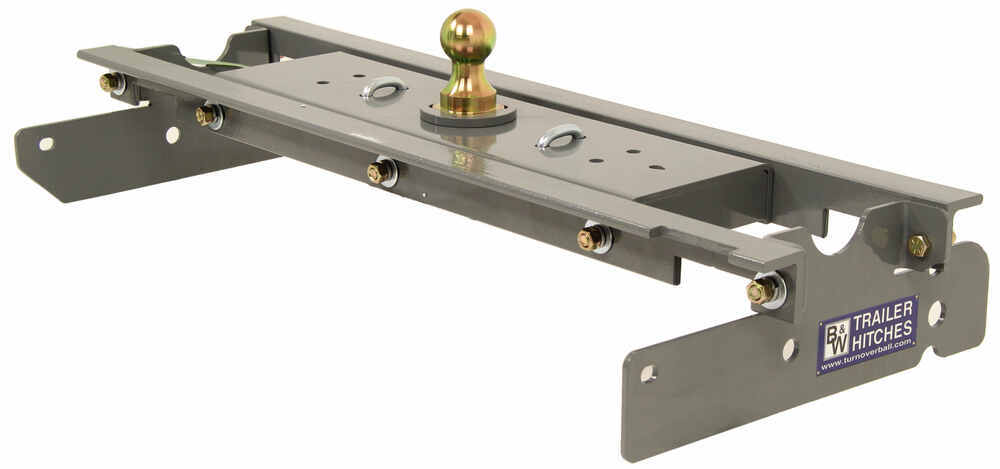 B and W Manual Ball Removal Gooseneck Hitch - BWGNRK1111