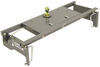 B&W Turnoverball Underbed Gooseneck Trailer Hitch w/ Custom Installation Kit - 30,000 lbs Manual Ball Removal BWGNRK1308