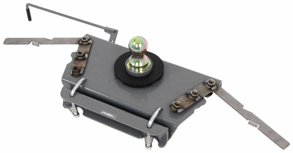 B&W Turnoverball Underbed Gooseneck Trailer Hitch w/ Custom Installation Kit - 30,000 lbs 7500 lbs TW BWGNRK1314