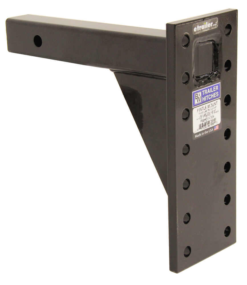 BWPMHD14004 - 16000 lbs GTW B and W Pintle Hitch