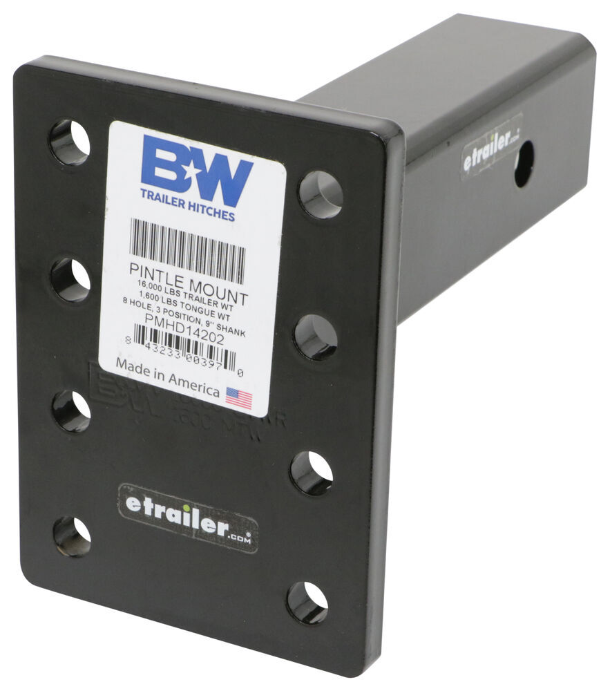 BWPMHD14202 - Standard Shank B and W Pintle Mounting Plate