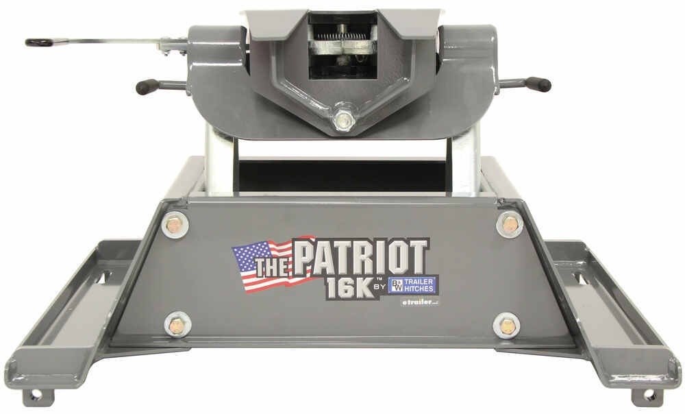 BWRVK3200 - Standard - Double Jaw B and W Fixed Fifth Wheel