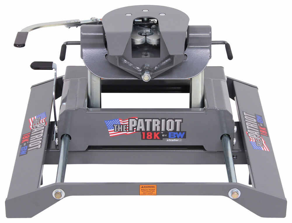 Fifth Wheel Hitch BWRVK3270 - 4500 lbs TW - B and W