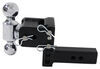 b and w trailer hitch ball mount drop - 3 inch rise class iv 10000 lbs gtw bwts10033bb