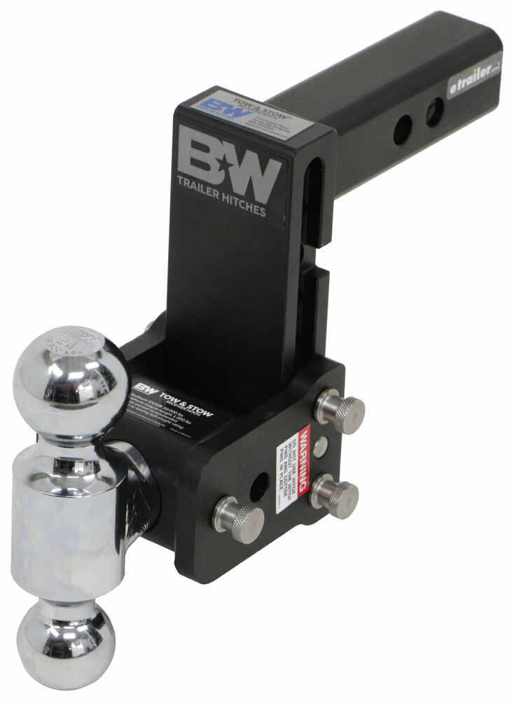 B and W Class IV,10000 lbs GTW Trailer Hitch Ball Mount - BWTS10037B