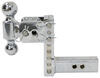 B and W Two Balls Trailer Hitch Ball Mount - BWTS10037C