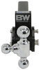 "B&W Tow & Stow 3-Ball Mount - 2"" Hitch - 3"" Drop, 3-1/2"" Rise - 10K - Black Drop - 3 Inch,Rise - 3 Inch BWTS10047B"