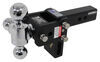 b and w trailer hitch ball mount drop - 3 inch rise class iv 10000 lbs gtw bwts10047bb